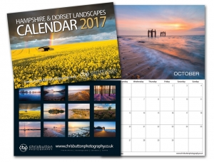 "2017 Calendar ""Hampshire & Dorset"" available now"